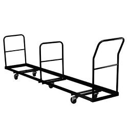 Vertical Storage Folding Chair Dolly - 50 Chair Capacity - Home garden