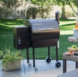 Traeger Grill Wood Pellet Smoker Outdoor BBQ 6 in 1 Cooker Pizza Oven