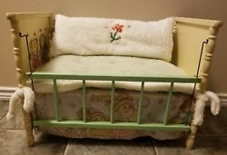 Unique One of a Kind Vintage Cabbage Patch Crib Pet Cat Dog Bed Furniture