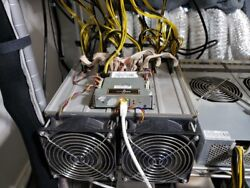 USED Bitmain Antminer S7 ++ Dual Bitcoin Miner 8.5THs - 9.5THs WFlanges