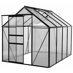 Ogrow Walk-in 6' x 8' Lawn and Garden Greenhouse wHeavy-Duty Aluminum Frame NEW