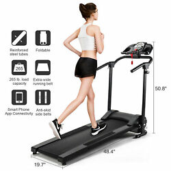 Folding Treadmill Electric Motorized Running Machine Home Gym $299.99
