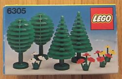 Rare Lego Legoland 6305 Trees & Flowers. 1980 NEW Sealed Unopened MIB Foreign