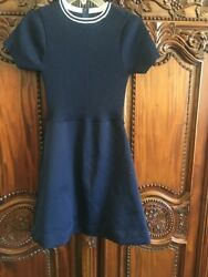 Classic Navy And White Dress $45.00