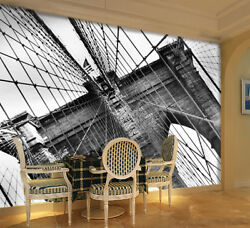 3D Chain Tower Bridge 4 Wall Paper Wall Print Decal Wall Deco Indoor Mural Lemon