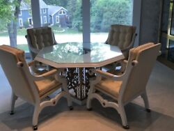 Martini Lounge Set - Table with 4 Chairs