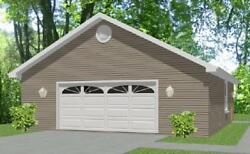 Garage House Home Plans 900 sf PDF file DOWNLOAD Full Construction Drawings