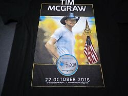 TIM MCGRAW Small t shirt SKY BALL XIV Special Operations 2016 Concert F9 $8.99