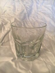 Bacardi Rum Cocktail On The Rocks Lowball Glass Barware 3 Available $7.00