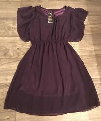 NWT Women's Purple Dress Size M $13.00