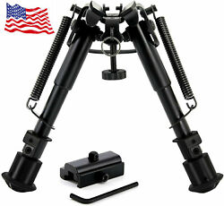 CVLIFE 6quot; 9quot; Tactical Hunting Bipod Adjustable Spring Return with Adapter $22.65