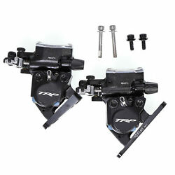 TRP HYRD Road Hydraulic Disc Flat Mount Brake Set 160mm Rotor x2 Front + Rear