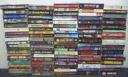 Lot of 10 Mystery Thriller Suspense Fiction Paperbacks Books RANDOM*MIX UNSORTED