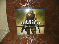 Tomb Raider: Underworld - Ultimate Fan Pack Collector's Edition PS3 RARE