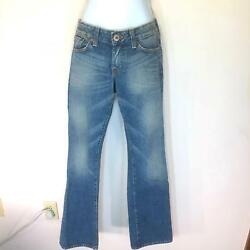 Lucky Brand Womens Jeans Sz 2 Distressed Light Wash Bootcut LR40