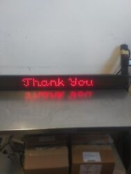 Adaptive Micro Systems Alpha 220C Message Display Sign $250.00