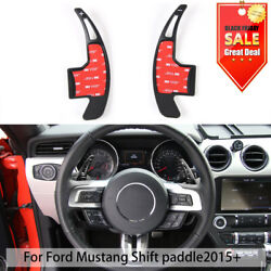 Steering Wheel Shift Paddle Shifter Extension decorative for 2015 Ford Mustang $18.78