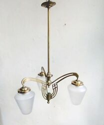 UNIQUE Antique 1920´s-30s Spanish Art Deco Chandelier Ceiling Lamp Vintage
