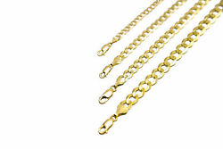 14k Solid Yellow Gold Cuban Link Chain Necklace 1.5 12mm Men#x27;s Women Sz 16quot; 36quot; $180.30