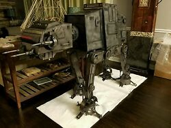 400lb Star Wars Metal Art AT-AT Walker Hand Made The Last Jedi Force Awakens