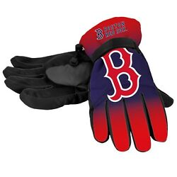 Boston Red Sox Gloves Logo Gradient Insulated Winter NEW Unisex Small M Large XL $19.75
