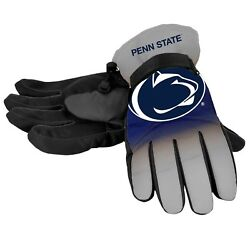Penn State Nittany Lions Gloves Logo Gradient Insulated Winter Unisex S M L XL $19.75