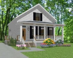 Custom House Home Building Plans 3 bed 1376 sf--- PDF file