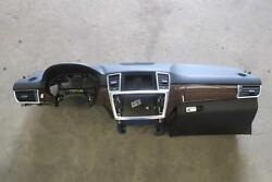 2012-2015 MERCEDES ML350 Dash Panel Black OEM