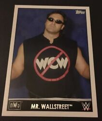 NWO Mr. Wall Street 2015 Topps WWE Heritage NWO TRIBUTE SPOTLIGHT #36 Of 40 $2.50