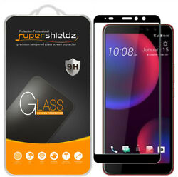 2X Supershieldz Full Cover Tempered Glass Screen Protector for HTC U11 Eyes $8.99