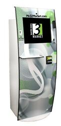 Three Squared Markets Executive Kiosk with GreyGreen Decals (2014)