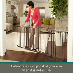 North States MyPet 72quot; Extra Wide Windsor Arch Gate 38.3quot; 72quot; wide 30quot; tall $77.56