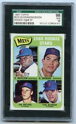 1965 Topps #533 Mets Rookies SGC 98 Pop 1 of 2!