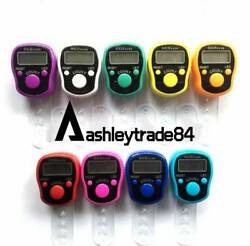 Wholesale LED muslim tally counter finger ring hand tally counter digital tasbih