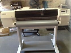 hewlett packard designjet 2500cp injet printer plotter $360.00