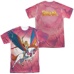 Authentic She-Ra Princess Sky Power Swift Wind Sublimation Front Back T-shirt