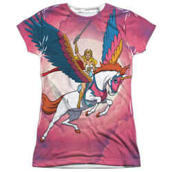 Authentic She-Ra Princess of Power Sky Swift Wind Sublimation Front T-shirt top