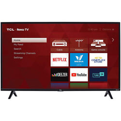 TCL 40quot; 1080p HD LED 3 Series Dual Band Wi Fi Roku Smart TV w 60Hz Refresh Rate $199.99