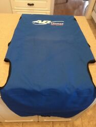 Ab Lounge Sport Replacement Fabric Chair Covering Blue Cloth Cover
