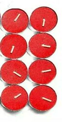 Variety of Highly Scented Tealights 48 Pack 4 Hour Tealights by Modern Lights