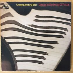 George Shearing Trio - GETTING IN THE SWING OF THINGS 1981 Vinyl PAUSA Rec 7088