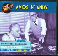 AMOS 'N' ANDY: Volume 6 (Old Time Radio Archives 6-CD set) - OTR - Great sound!