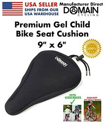 Premium Child Bike Gel Seat Cushion Cover 9quot; x 6quot; Kids Bicycles Domain Cycling $19.99
