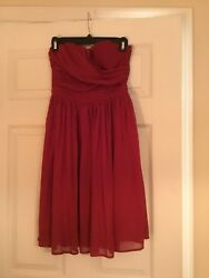 Red Cocktail Dress Size 2 $13.99