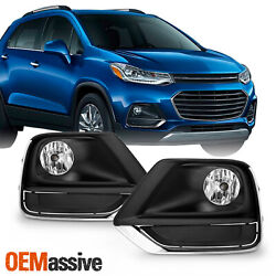 For 2017-2020 Chevy Trax model Bumper Fog Lights Lamp wWiring Switch Pair LH+RH $55.99