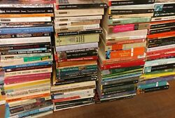 Lot of 10 Classic Paperback Literature Book Penguin Orwell Dickens Steinbeck Mix $14.93