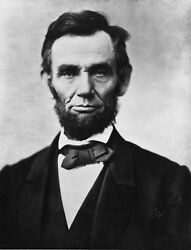 PRESIDENT ABRAHAM LINCOLN GLOSSY POSTER PICTURE PHOTO REPUBLICAN CIVIL WAR USA