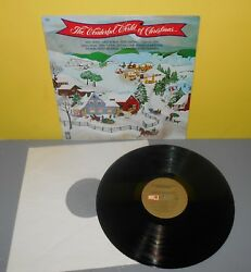 The Wonderful World of Christmas LP Record Capitol Stereo SL-8000 Various