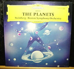 HOLST: The Planets-William Steinberg-Boston Symphony Orchestra (GERMANY)