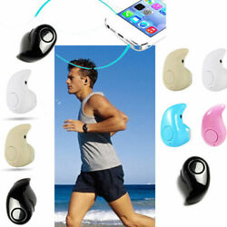Mini Wireless Bluetooth 4.1 Earbud In-Ear w Mic Stereo Earphones Sport Headset
